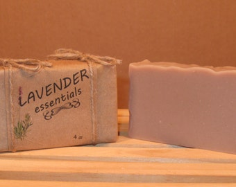 Lavender Essentials Goatmilk Soap