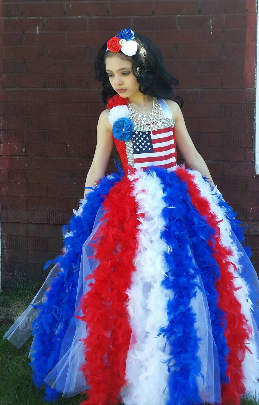 American Flag Tutu Dress4th Of July Tutu Dress Patriotic