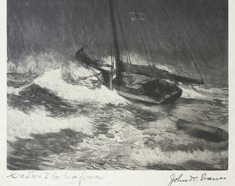 The Squall (after Carlton T. Chapman)