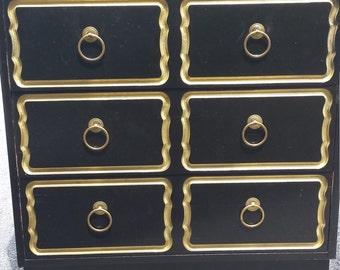 Dorothy Draper style Espana 3 drawer Chest
