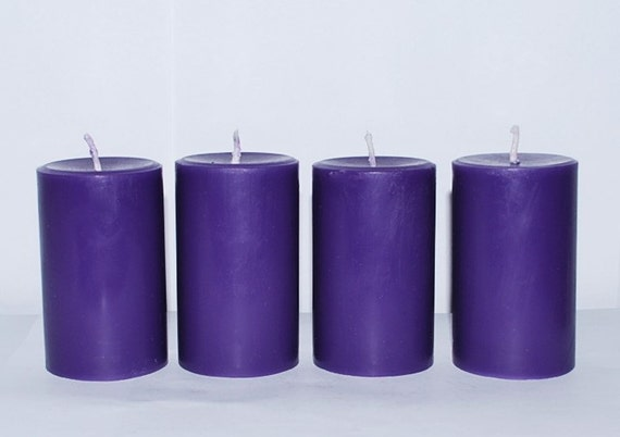 4 scented candles pillar candles homemade pillar candles for Scents for homemade candles