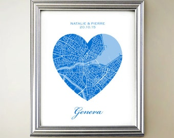 Geneva Heart Map