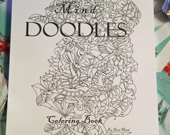 Mind Doodles Stress Free COLORING BOOK