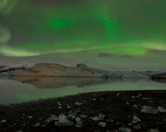 The Aurora Borealis Taken in Iceland
