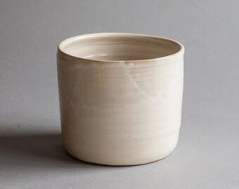 Ceramic Utensil Holder: Handmade Stoneware Utensil Holder For Your Kitchen