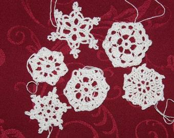 crochet snowflakes Nr. 11