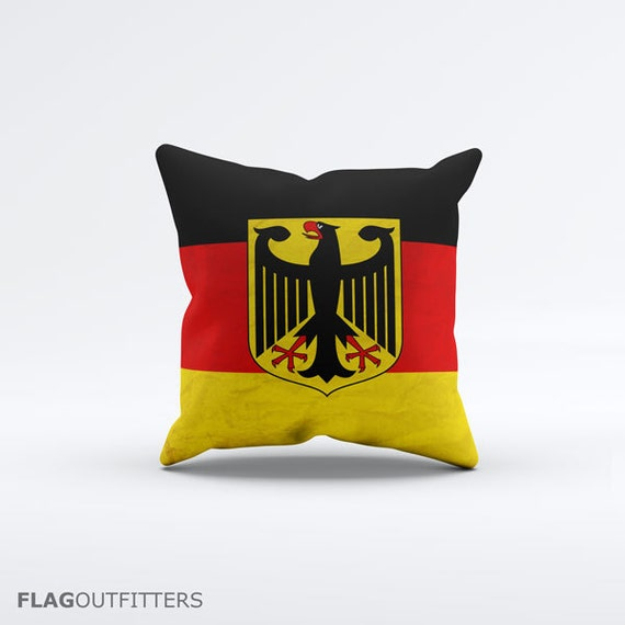 15 Inch Throw Pillow Covers : Flag of Germany Throw Pillow Cover 15 x 15 inch