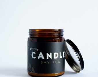 Bay Rum Candle