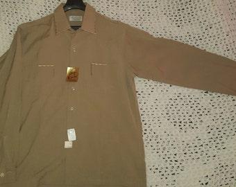 1950's Vintage Men's Dress Shirt VLV