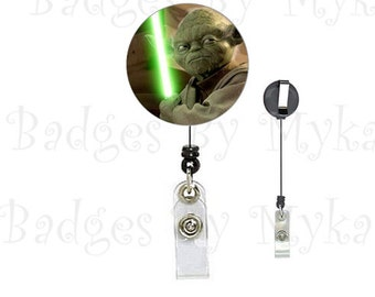 Retractable ID Badge Holder - Star Wars