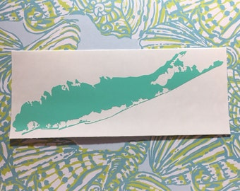 Long Island Vinyl Decal