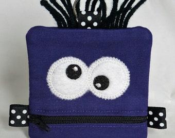 Purple Mini Monster Pouch
