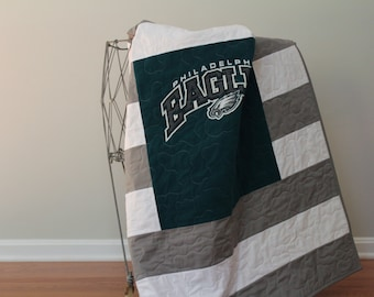 Lil' Eagles Quilt Philadelphia Eagles baby & toddler quilt *free shipping*