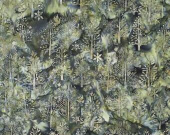 Batik fabric Stonegreen/Robert Kaufman #BK334, sold by the 1/4yrd-1/2yrd-1 yard
