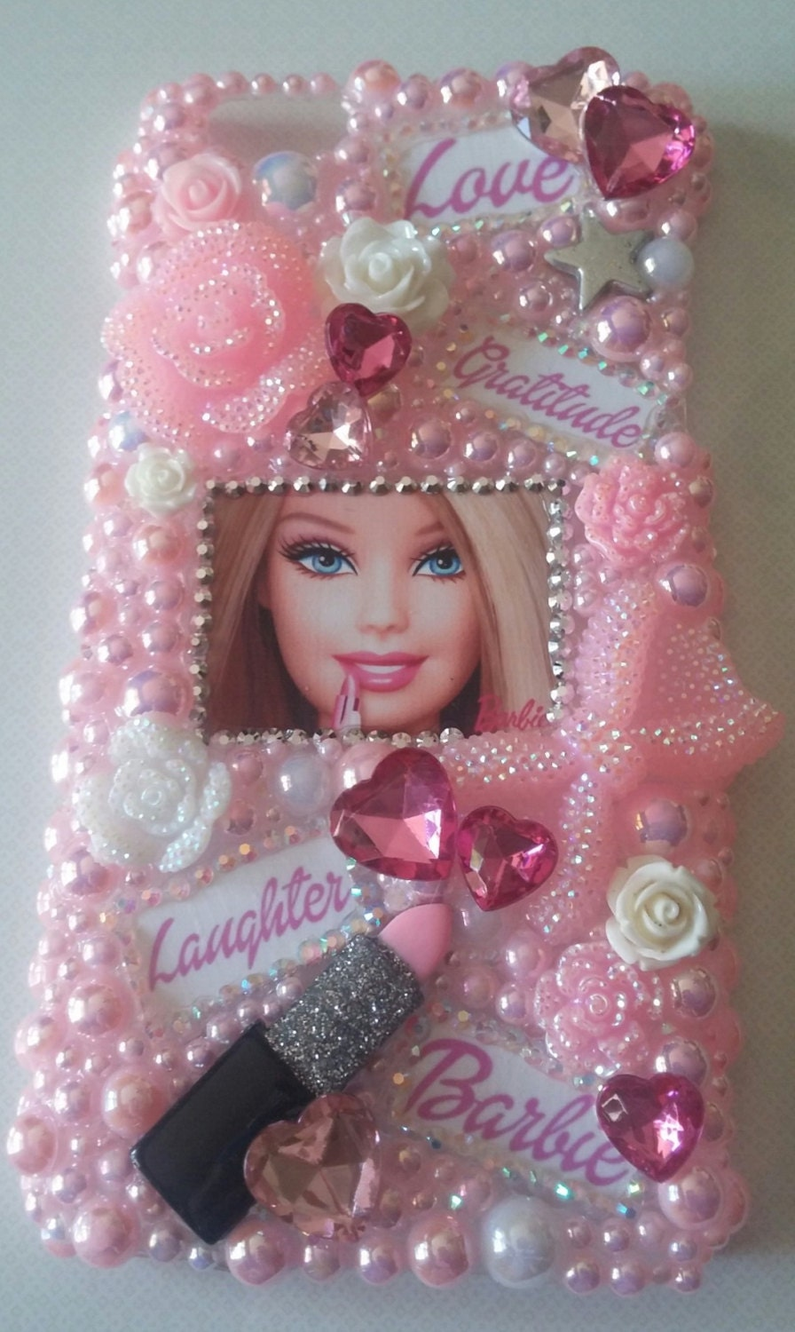 Sale completed iphone 6 6s plus barbie handmade cell phone - Telephone barbie ...