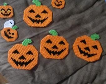 Jack o lantern magnets halloween ghost