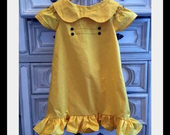 Frieda Dress, Frieda Costume, Lucy Van Pelt Costume, Lucy Costume, Peanuts Costume, Charlie Brown Costume, Peanuts Halloween