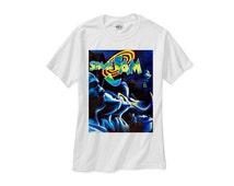 Space Jam dream team michael jordan retro magic bird barkley tee shirt tshirt vintage spike lee bulls