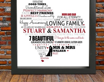 35th wedding anniversary gifts for friends Wedding theme blog