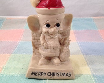 Russ & Wallace Berrie Xmas Mouse