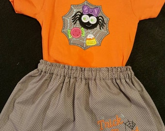 Adorable Halloween outfits for baby girl.