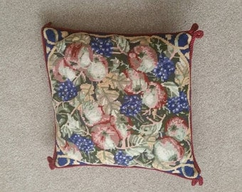 Handmade Tapestry  cushion.