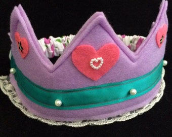 Purple Heart Crown