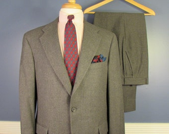 B.J. Keats Gray Flannel Suit