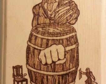 Woodburning - PewDiePie Fan