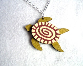 Chain, sea turtle (521)