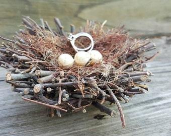 Ring Bearer Birds Nest - Woodland Wedding - Enchanted Forest- Outdoor Wedding