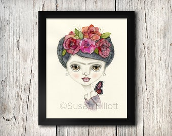 Frida Fine Art Print