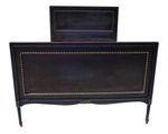 SALE! Org 1295.00 Antique French Country Full-Size Bed American Mahogany 78 x 56