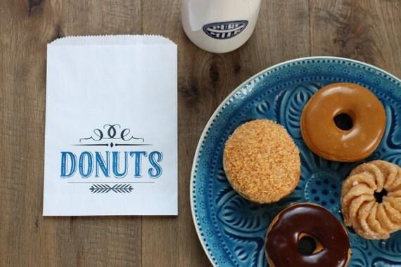 Wedding Favor Bags. Donut Bags. Wax Lined Bags. Doughnut
