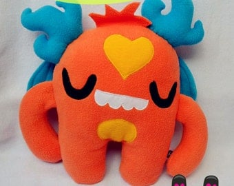 ORANGE MONSTER PLUSH