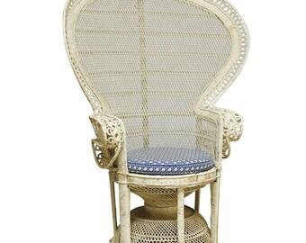 70's Emmanuelle Peacock Chair