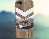 Black White Snow Forest Chevron Brown Wood Phone Case Nature Galaxy s7 Case, Tough Case iPhone 6, Samsung s7 edge Case Escape iPhone 6s Plus