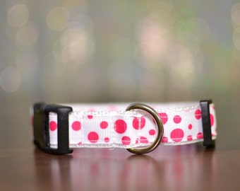Pink N' Bubbly Dog Collar