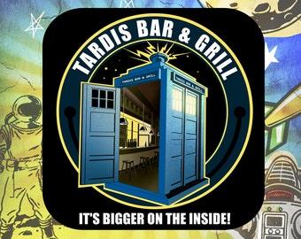 Doctor Who's Tardis Coaster Set