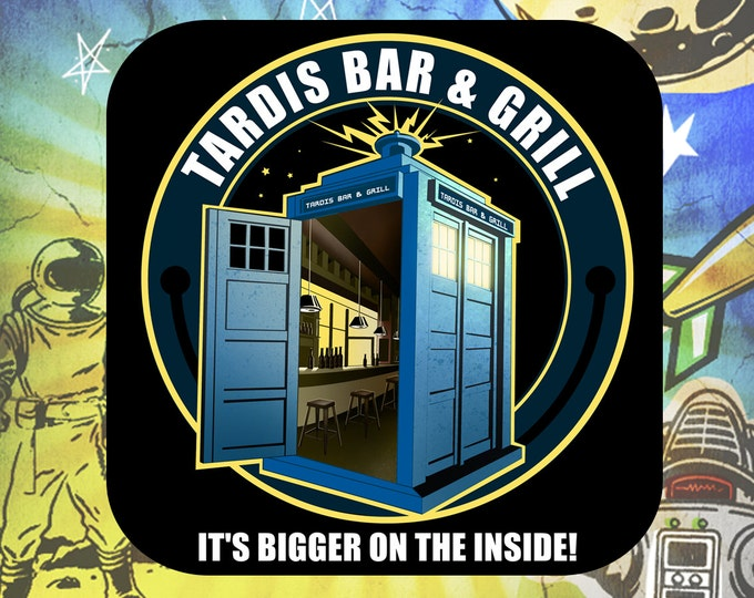 Doctor Who's Tardis Coaster Set