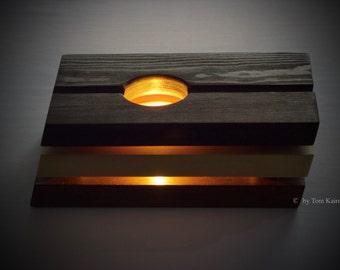 Teawarmer wood bicolor