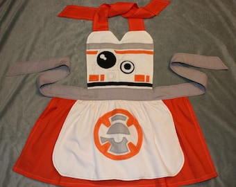 Star Wars Inspired BB-8 Dress Up Apron Costume