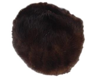 Macy's Little Shop 1950s Beaver Fur Hat