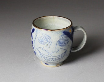 Checkered Face Cup