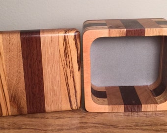Handcrafted Bandsaw Jewelry/Trinket Box Made from Reclaimed Wood