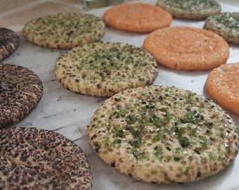 Camouflage Snickerdoodle Cookies 1 Dozen Gourmet Camo Cookies, Hunting Cookies, Dad Gift
