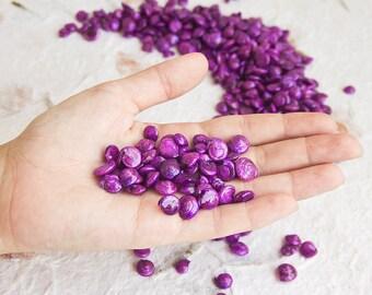 100 Gram Natural Shells Violet