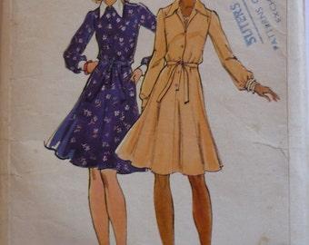 Vintage Sewing Pattern. Butterick 3264. Dress pattern.