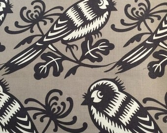 Chirp from Seedling by Thomaspaul for Michael Miller Fabrics in Pewter