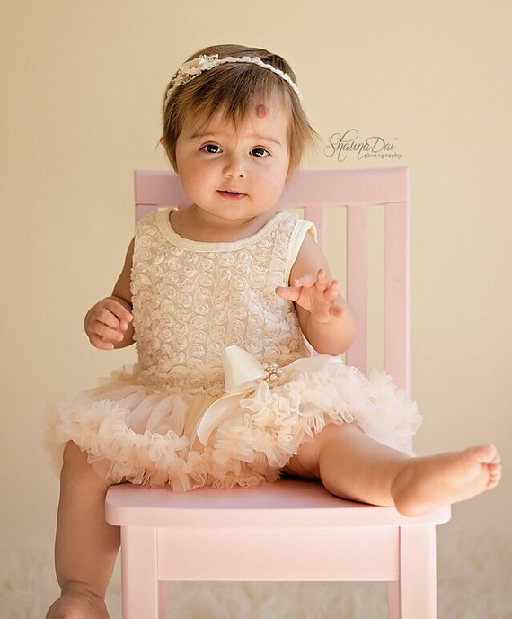 Baby girl dress Baby girl first birthday outfit 1st birthday